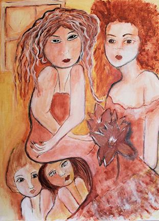 Dolls in the Attic-social