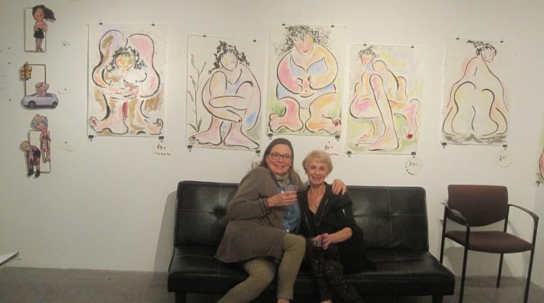 Carol Scavotto, her best friend and her wonderful work.