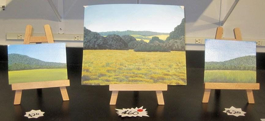 Paintings by Lucas.