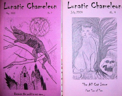 Lunatic Chameleon Cover Art