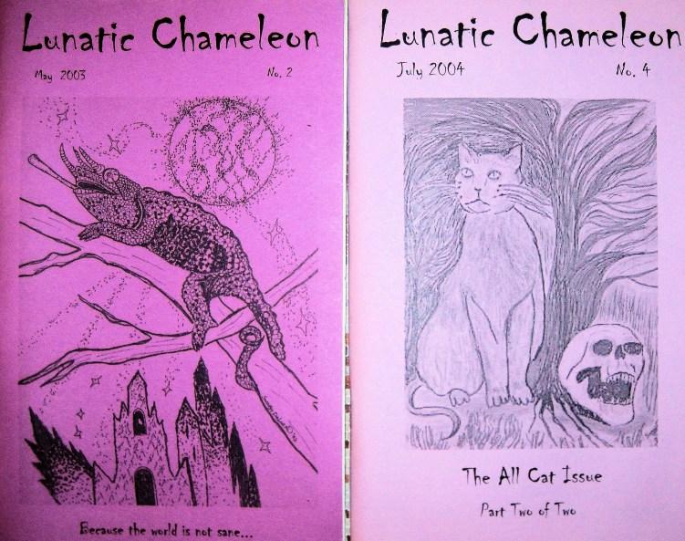 Lunatic Chameleon Cover Art