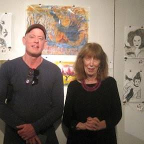 With Ricky Gagnon, Eunoia Gallery, November, 2018.