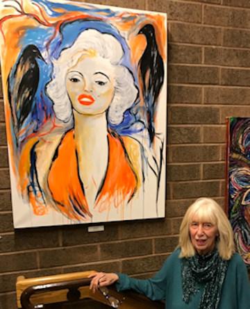 Sandy DeLuca, New Hoe Art Gallery, November 19, 2019