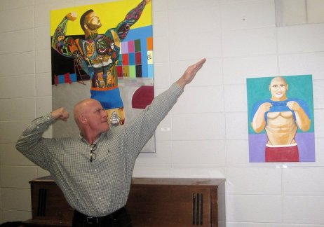Ricky Gagnon, Curator and artist.