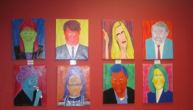 Ricky's Funky Paintings