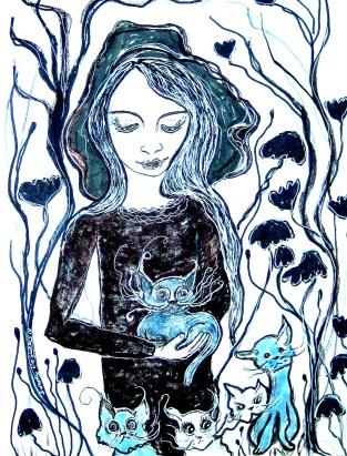 Mystical Cat Lady