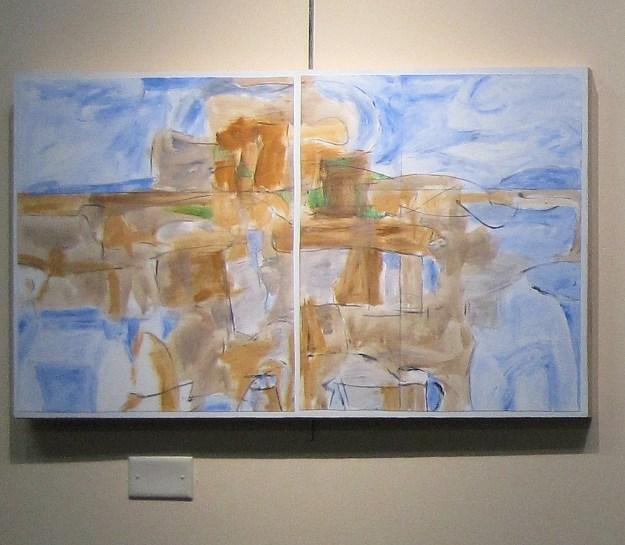 Bob Judge's wonderful abstract painting.