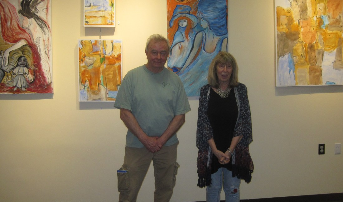 Bob Judge and Sandy DeLuca, June 8, 2019