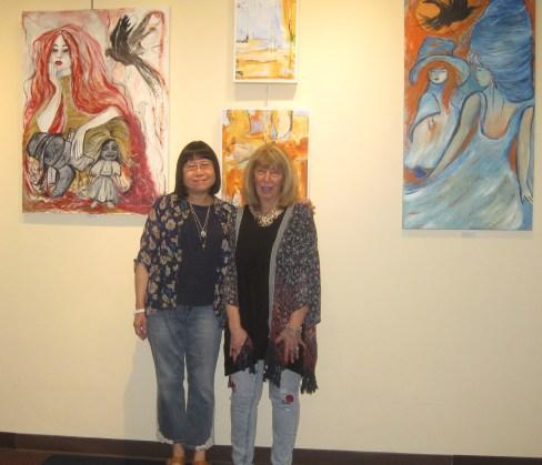 My friend Eva and me