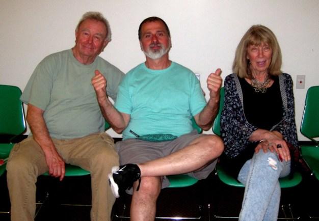 Bob Judge, Mike Rodriques and myself