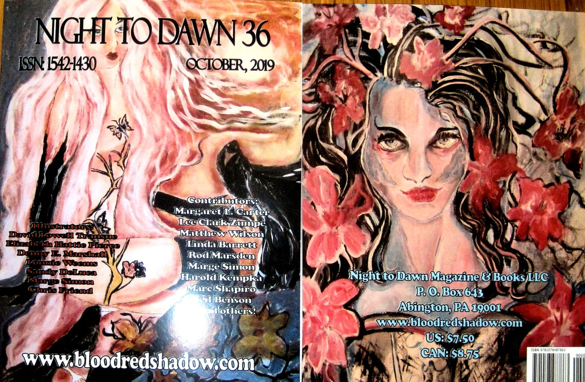 Night to Dawn 36, front and back covers