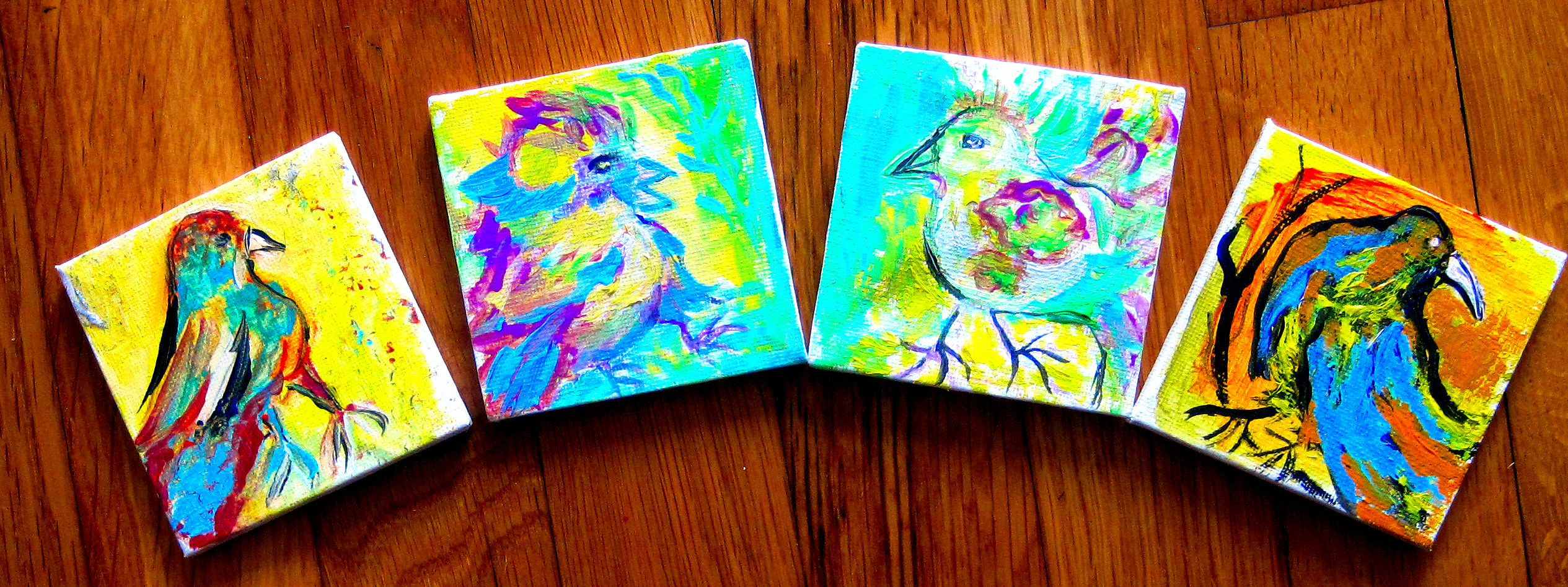 Colorful Mini Paintings