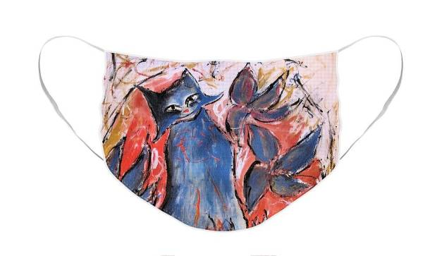 mask-blue-cat-sandy-deluca
