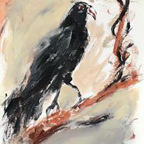 Writing raven