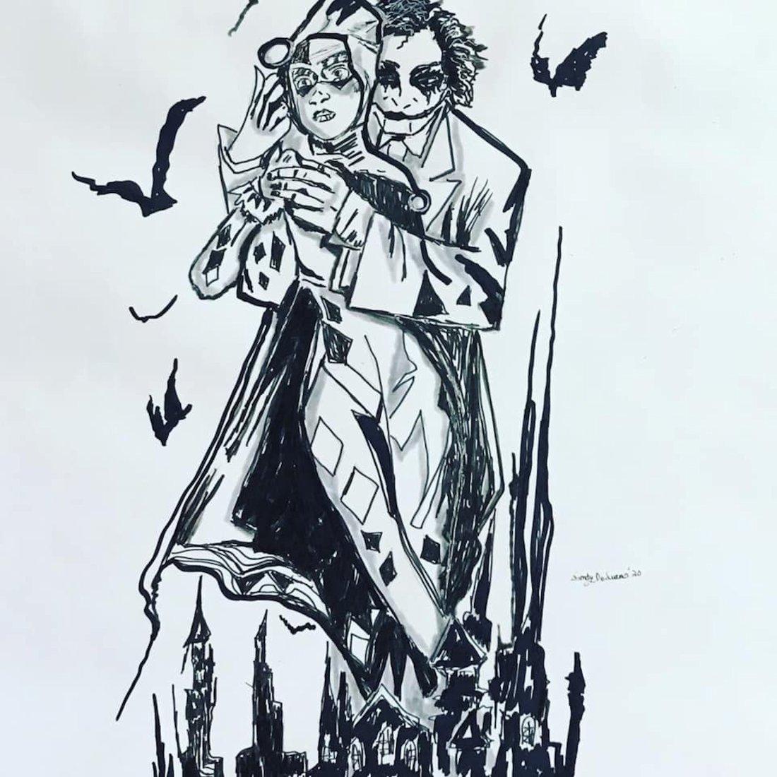 Harley and Joker In Love