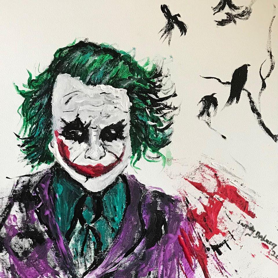 Joker Face Ledger