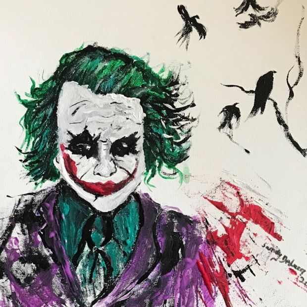 Joker Face Ledger