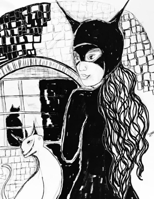 July--catwoman